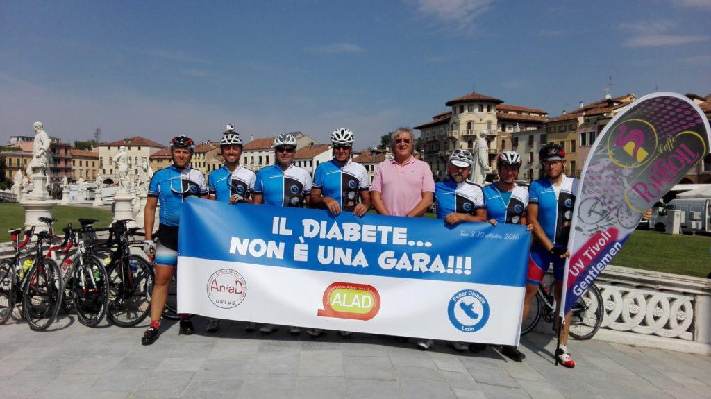 Il passaggio a Prato della Valle a Padova